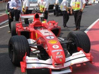 2004 Ferarri F1 Car