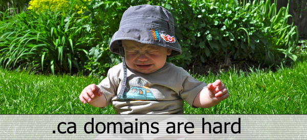 .ce domains are hard